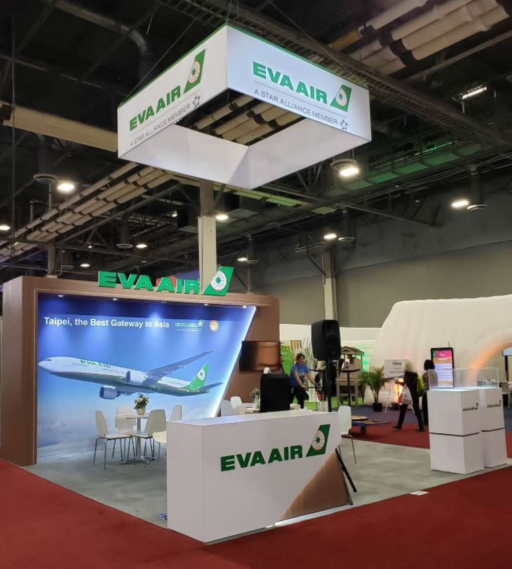 EVA Airways at IMEX 2019