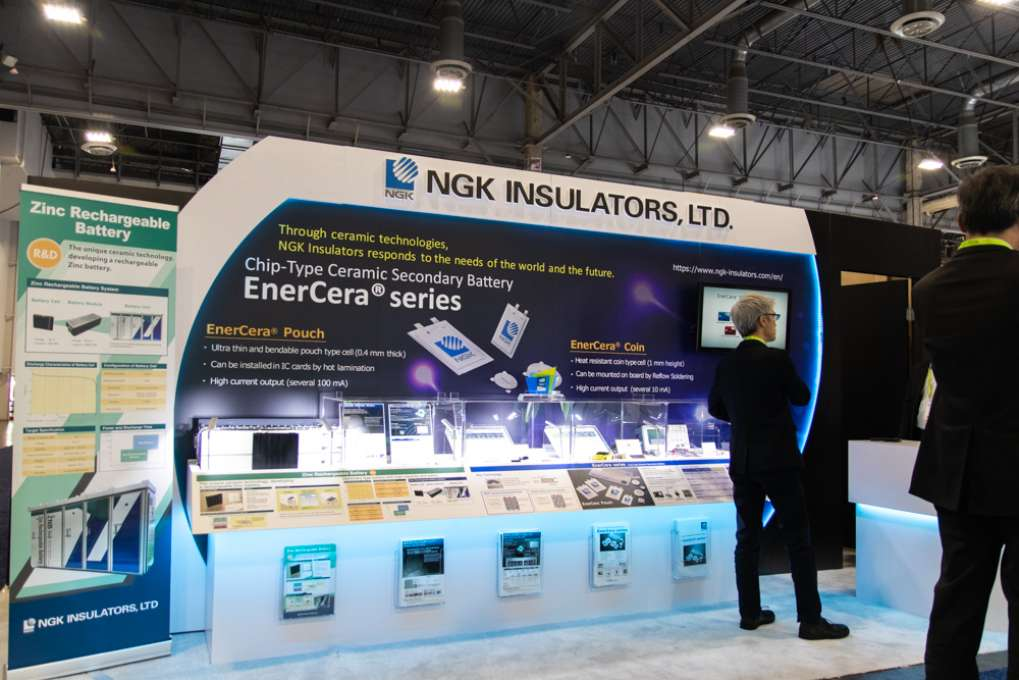 Elecom, Tanita, and NGK Insulators at CES 2019