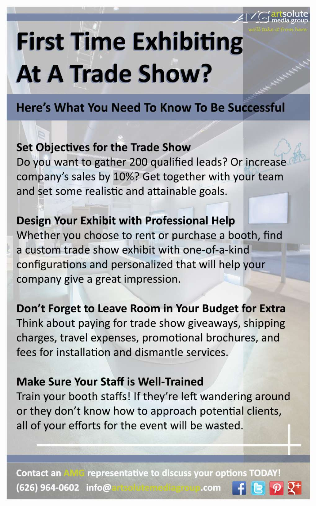 Drive Traffic to Your Trade Show Booth